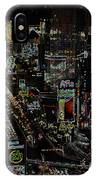Naked Moon Over The Strip IPhone Case