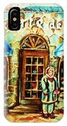 Nancys Fine Pastries IPhone Case