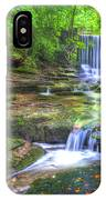 Nant Mill Waterfall IPhone Case