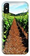Napa Rows Of Grapes IPhone Case