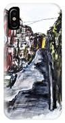 Naples City Street IPhone Case by Clyde J Kell