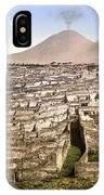 Naples: Mt. Vesuvius IPhone Case
