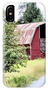 Naples Red Barn  IPhone Case
