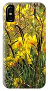 Narcissus And Grasses IPhone Case