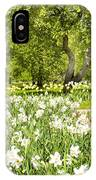 Narcissus In Apple Garden IPhone Case