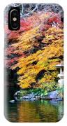 Naritasan Temple Garden IPhone Case
