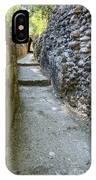 Narrow Mayan Road IPhone Case