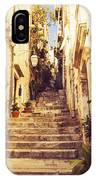 Narrow Street In Old Town Dubrovnik IPhone Case