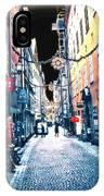 Narrow Street Ready IPhone Case