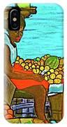 Nassau Fruit Seller At Waterside IPhone Case