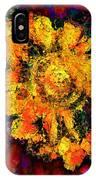 Natalie Holland Sunflowers IPhone Case