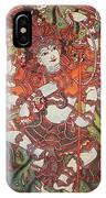 Nataraja Mural IPhone Case