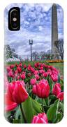 National Park Service Floral Library IPhone Case