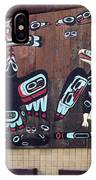 Native Alaskan Mural IPhone Case