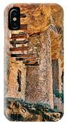 Native American Cliff Dwellings IPhone Case