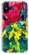 Native Plants Become Art.  IPhone Case