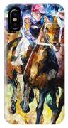 Native Raiser - Palette Knife Oil Painting On Canvas By Leonid Afremov IPhone Case