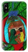 Nativity In A Bulb IPhone Case