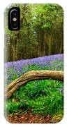 Natural Arch And Bluebells IPhone Case
