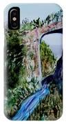 Natural Bridge In Virginia IPhone Case