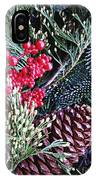 Natural Christmas 3 IPhone Case