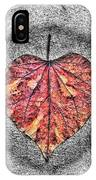 Natural Heart IPhone Case