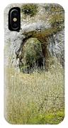 Natural Limestone Arch At Dove Valley IPhone Case