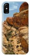 Natural Staircase Valley Of Fire IPhone Case