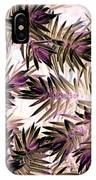 Nature Abstract In Pink And Brown IPhone Case