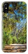 Nature Drive IPhone Case