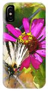 Butterfly In Love IPhone Case