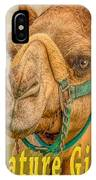 Nature Girl Camel IPhone Case