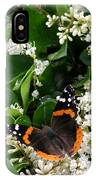 Nature In The Wild - A Sweet Stop IPhone Case