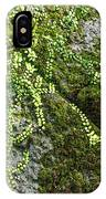 Nature - Living Retention Wall 1 IPhone Case