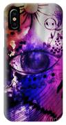 Nature N Music Abstract IPhone Case