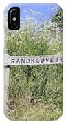 Nature Reservoir.denmark IPhone Case
