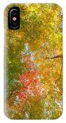 Natures Canopy Of Color IPhone Case