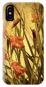Nature's Chaos In Spring IPhone Case