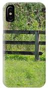 Natures Fence IPhone Case