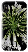 Natures Fireworks - Lily Of The Nile 005 IPhone Case