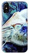 Nautilus Blue IPhone X Case