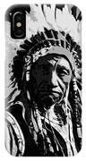 Navajo Indian Chief IPhone Case