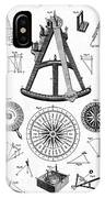 Navigational Instruments, E.g. Sextant IPhone Case
