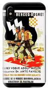 Nazi Allies Anti Soviet Propaganda Poster Circa 1942 Color Added 2016 IPhone Case
