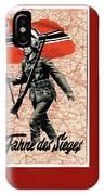 Nazi Propaganda Poster Number 1 Circa 1942 IPhone Case