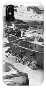 Nazi Tanks On The Outskirts Of Stalingrad 1942 IPhone Case