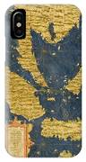 Indochinese Peninsula And Major Islands Of Indonesia IPhone Case