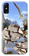 Near The Lake In The Mountain 2 IPhone Case