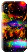 Nebula Collision Course IPhone Case