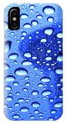 Needle In Rain Drops H006 IPhone Case